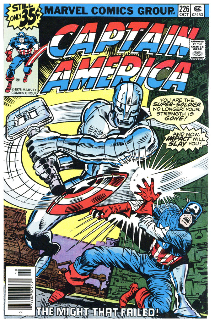 Captain America #226 VF+