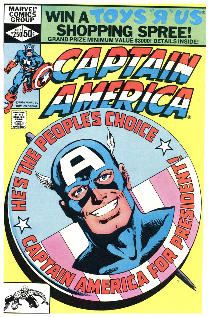 Captain America #250 NM-
