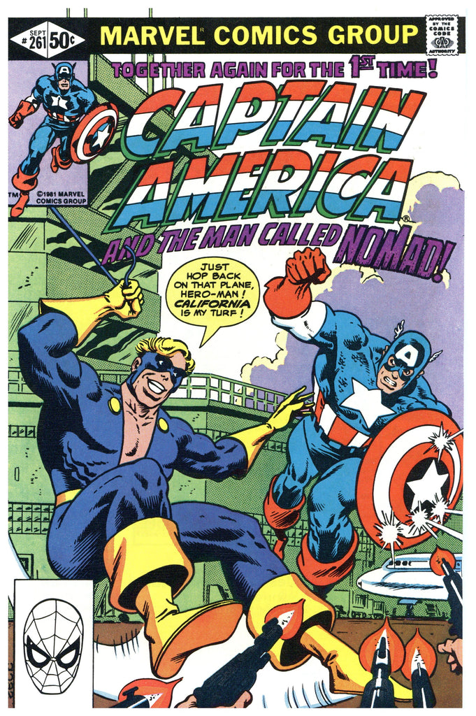 Captain America #261 NM+