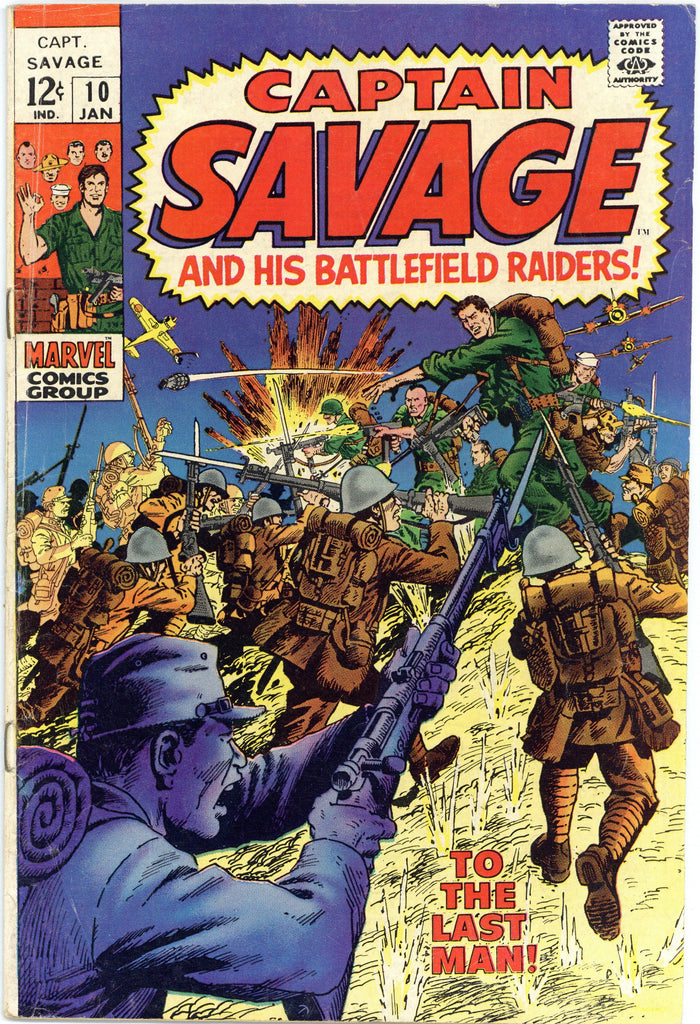 Captain Savage #10 Fine-