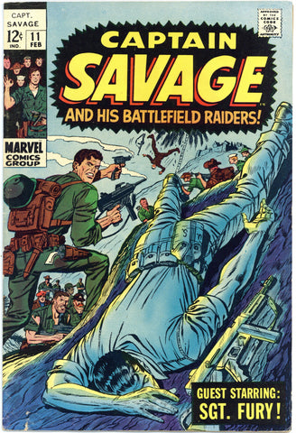 Captain Savage #11 F/VF