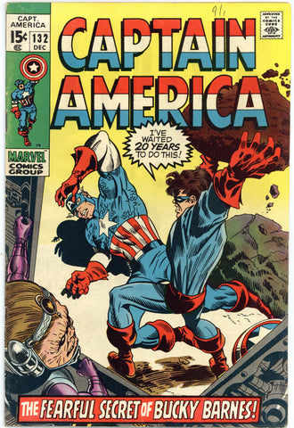 Captain America #132 F/VF