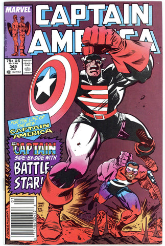 Captain America #349 NM