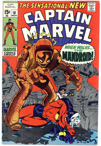 Captain Marvel #18 F/VF
