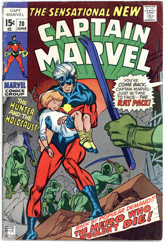 Captain Marvel #20 Fine