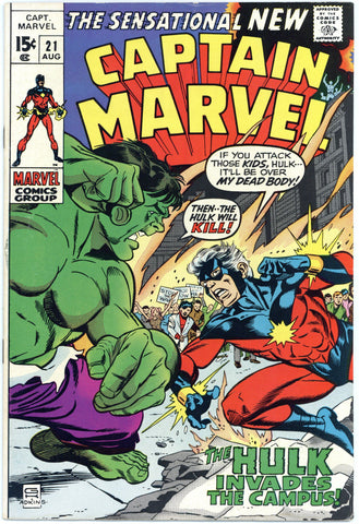 Captain Marvel #21 VF+