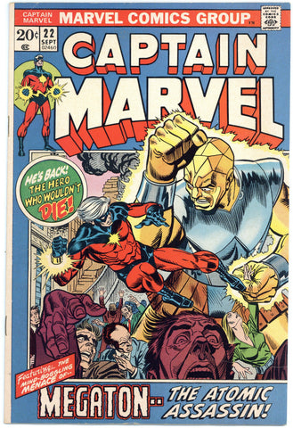 Captain Marvel #22 VF