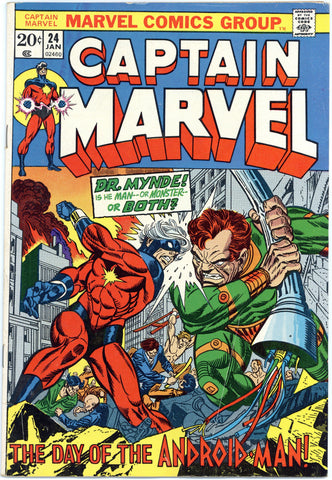 Captain Marvel #24 VG/F