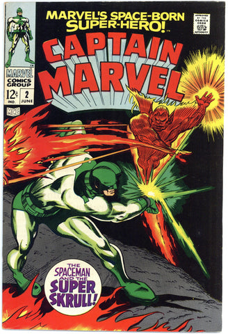 Captain Marvel #2 VF