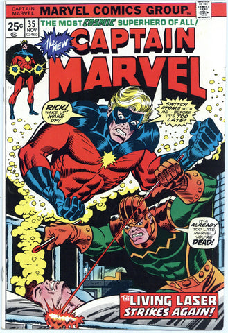 Captain Marvel #35 VF+