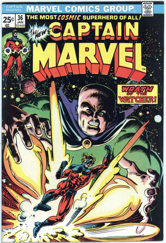 Captain Marvel #36 VF
