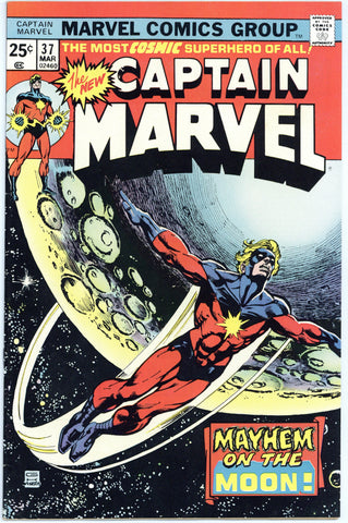 Captain Marvel #37 VF+