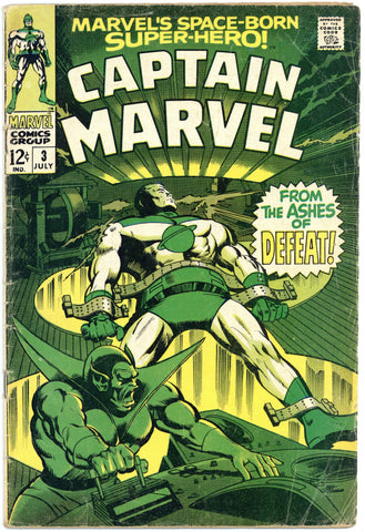 Captain Marvel #3 VG