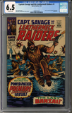 Captain Savage and his Leatherneck Raiders #1  CGC 6.5
