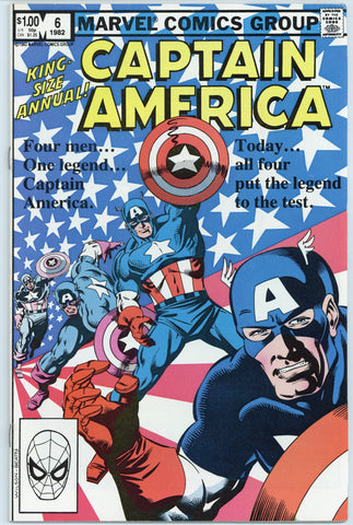 Captain America Annual #6 NM-