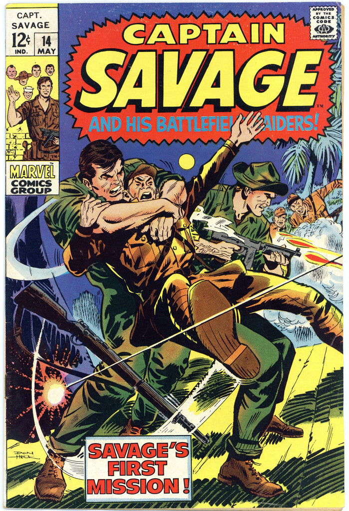 Captain Savage #14 F/VF