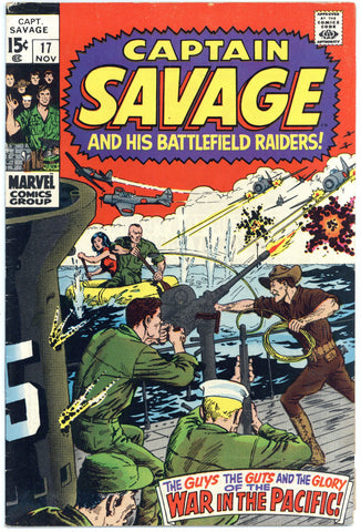 Captain Savage #17 VG/F