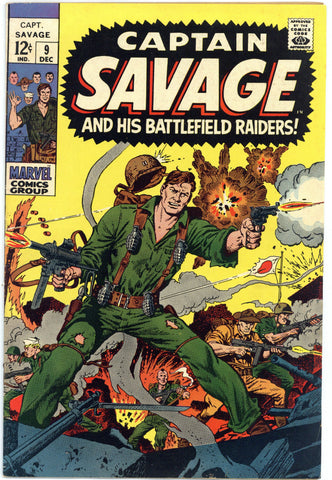Captain Savage #9 VF+