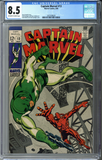 Captain Marvel #13 CGC 8.5