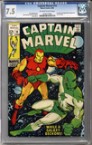 Captain Marvel #14  CGC 7.5