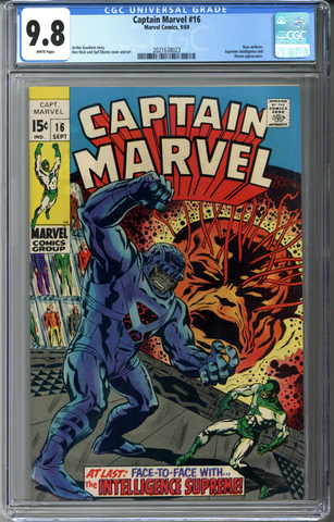 Captain Marvel #16 CGC 9.8