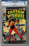 Captain Marvel #17  CGC 6.5