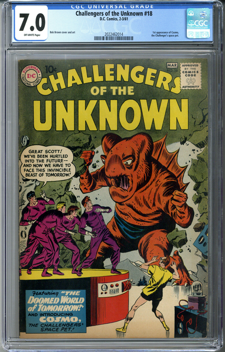 Challengers of the Unknown #18 CGC 7.0