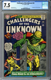 Challengers of the Unknown #50 CGC 7.5