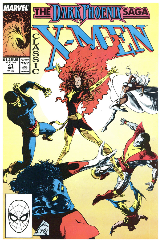Classic X-Men #41 thru 46 NM to NM+ (5 books total)