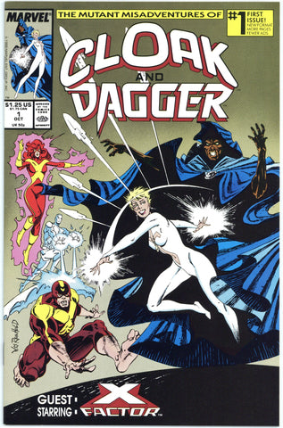 Cloak and Dagger #1, 3 and 4 VF+ to NM (1988 series)