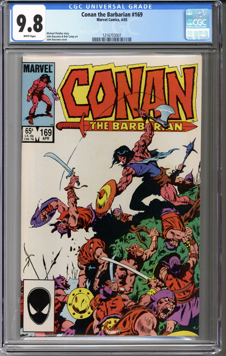 Conan the Barbarian #169  CGC 9.8
