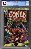 Colorado Comics - Conan the Barbarian #54  CGC 8.0