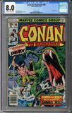 Conan the Barbarian #86  CGC 8.0