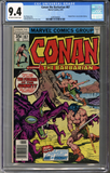 Colorado Comics - Conan the Barbarian #87  CGC 9.4