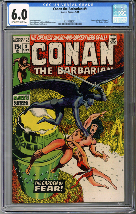 Colorado Comics - Conan the Barbarian #9  CGC 6.0