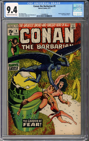 Conan the Barbarian #9 CGC 9.4