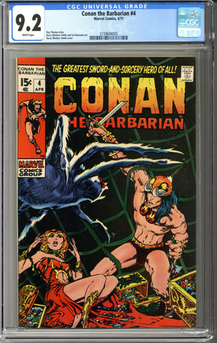 Conan the Barbarian #4 CGC 9.2