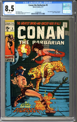 Conan the Barbarian #5 CGC 8.5