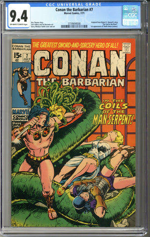 Conan the Barbarian #7 CGC 9.4