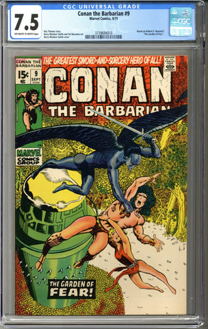 Conan the Barbarian #9 CGC 7.5