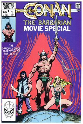 Conan the Barbarian Movie Special #1 & 2 NM