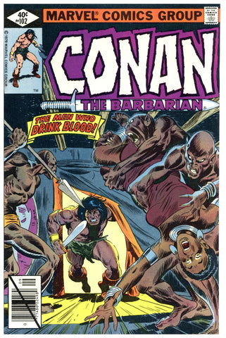 Conan the Barbarian #102 NM+