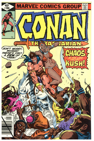 Conan the Barbarian #106 NM+