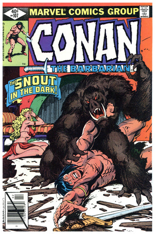 Conan the Barbarian #107 NM-