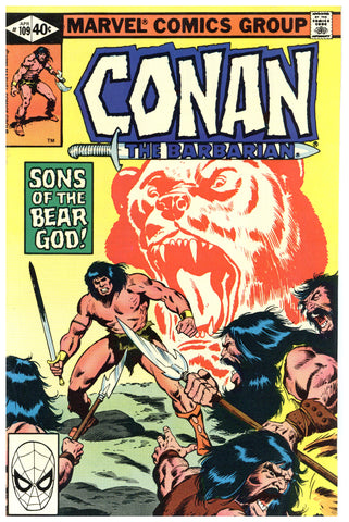 Conan the Barbarian #109 VF/NM