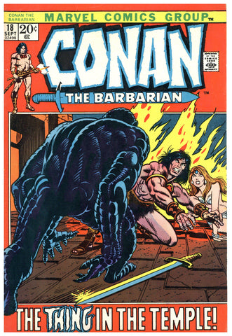 Conan the Barbarian #18 VF-