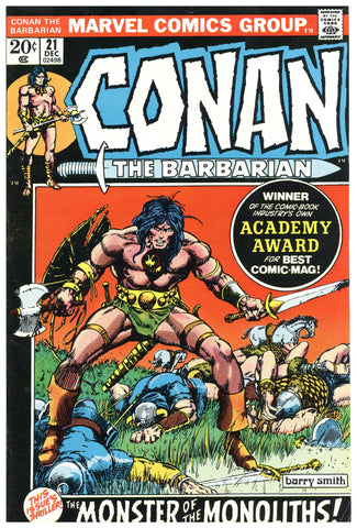 Conan the Barbarian #21 VF-