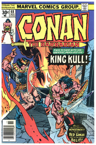 Conan the Barbarian #68 NM