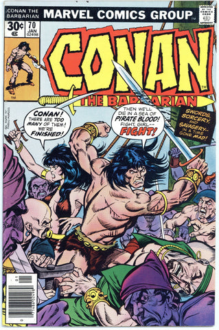 Conan the Barbarian #70 VF