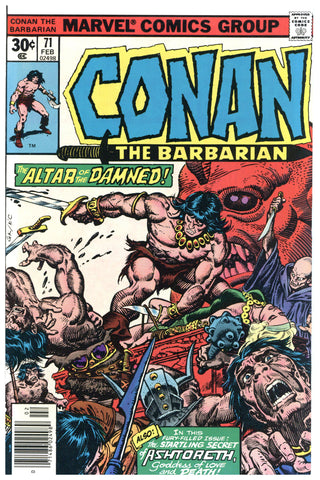 Conan the Barbarian #71 NM+